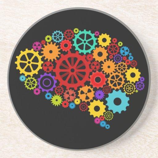 Brain Gears Coaster