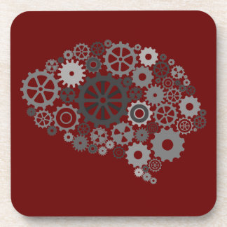 Brain Gears  Cork Coaster