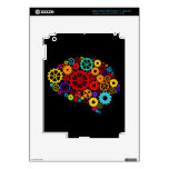Brain Gears eReader and Tablet Skin Decals For iPad 3