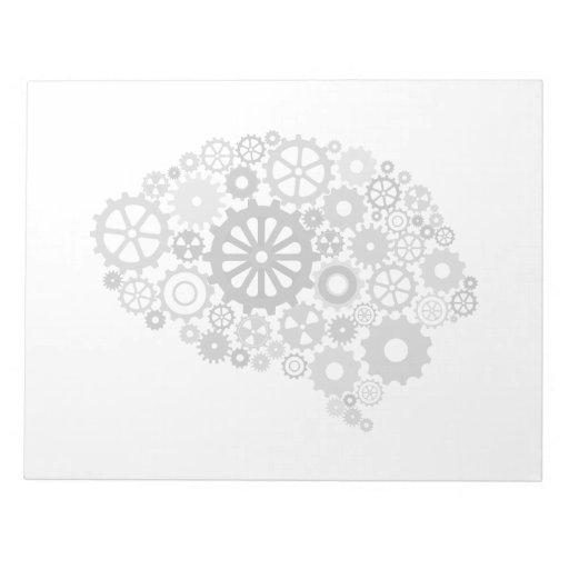Brain Gears Notepad
