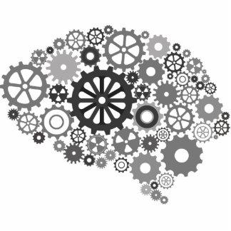 Brain Gears Photo Sculpture