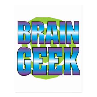 Brain Geek v3 Postcard