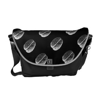 Brain Grid Messenger Bag