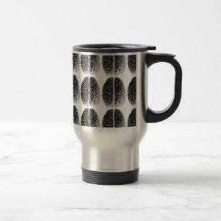 Brain Grid Travel Mug