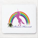 Brain Harvest Unicorn Mouse Pad