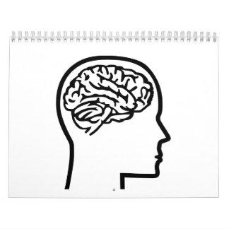 Brain head calendar