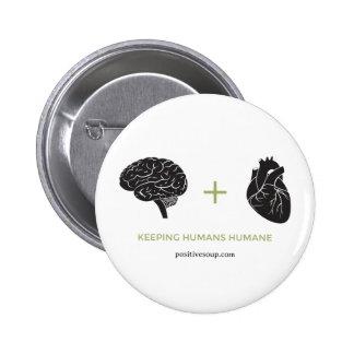 Brain + Heart Button