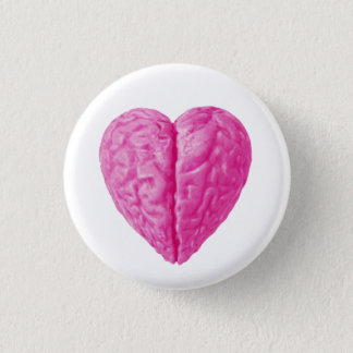 Brain Heart Pinback Button