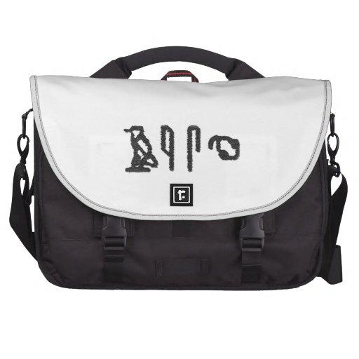 Brain Hieroglyphics Bags For Laptop