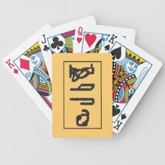 Brain Hieroglyphics Bicycle Playing Cards