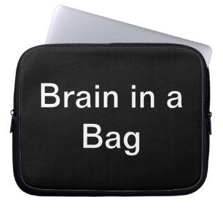 Brain in a Bag Soft Sleeve iPad Case CricketDiane Laptop Computer Sleeve