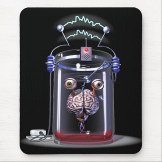 Brain in a Jar Mouse Pad