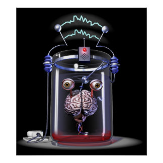 Brain in a Jar Posters