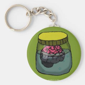 Brain in a vat keychain
