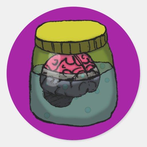 Brain in a vat stickers