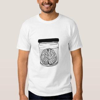 Brain in Jar T Shirts