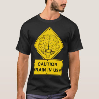 Brain in Use Tee Shirt