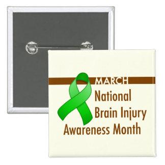 Brain Injury Awareness Month Button