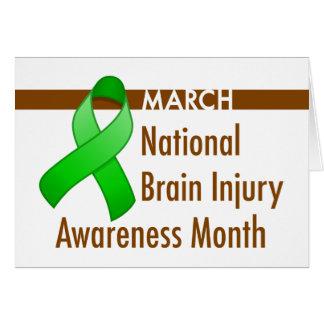 Brain Injury Awareness Month Card