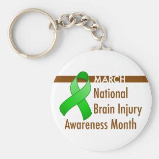 Brain Injury Awareness Month Keychain