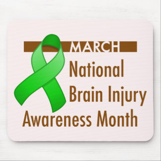 Brain Injury Awareness Month Light Mousepad