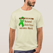 Brain Injury Awareness Month Light Shirt