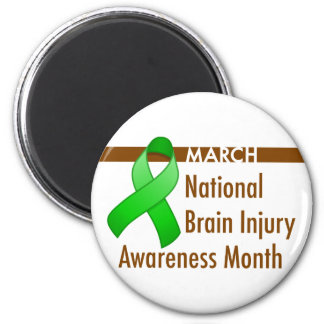 Brain Injury Awareness Month Magnet