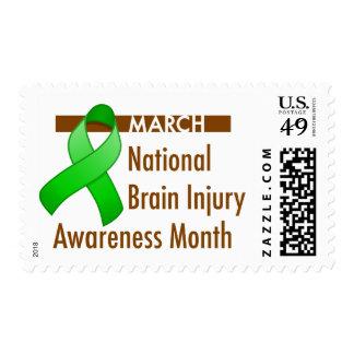 Brain Injury Awareness Month Postage