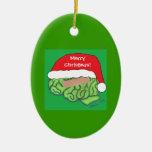 Brain Injury Awareness ornament