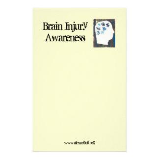 Brain Injury Awareness Stationery
