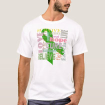 Brain Injury Inspiration Green Ribbon Shirt