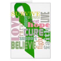 Brain Injury Inspirational Words Greeting Card