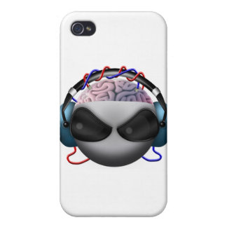 Brain Case For iPhone 4