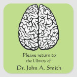 Brain Library Stickers