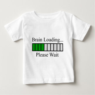 Brain Loading Bar Baby T-Shirt