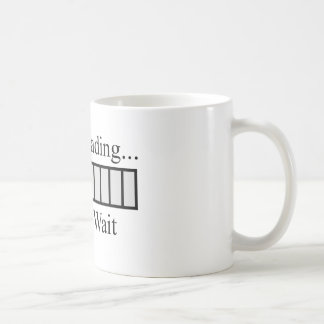 Brain Loading Bar Coffee Mug