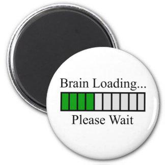 Brain Loading Bar Magnet