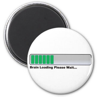Brain Loading Please Wait... 2 Inch Round Magnet