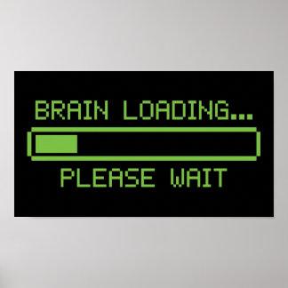 Brain Loading... Please Wait Poster