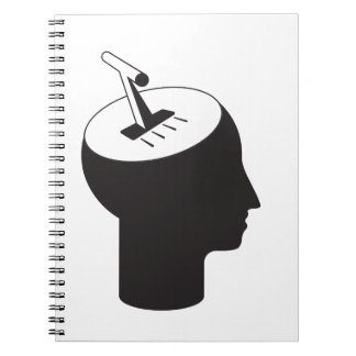 brain mode - thinking shift lever notebook