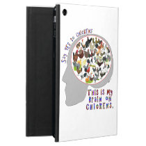 Brain On Chickens iPad Air Cover