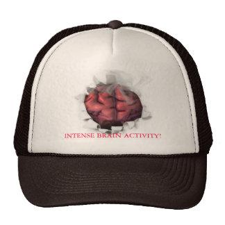 Brain on fire, INTENSE BRAIN ACTIVITY! Trucker Hat