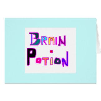 Brain Potion Card