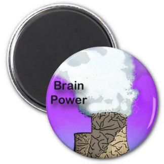 Brain Power Fridge Magnets