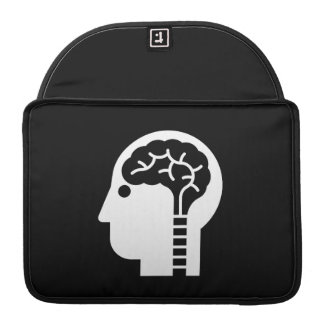 Brain Power Pictogram MacBook Pro Sleeve