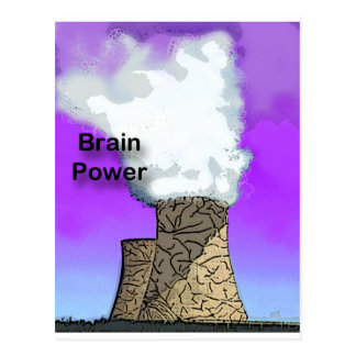Brain Power Postcard