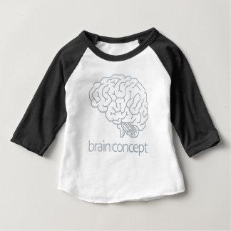 Brain Profile Concept Baby T-Shirt