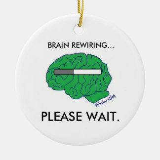 """BRAIN REWIRING"" ornament"