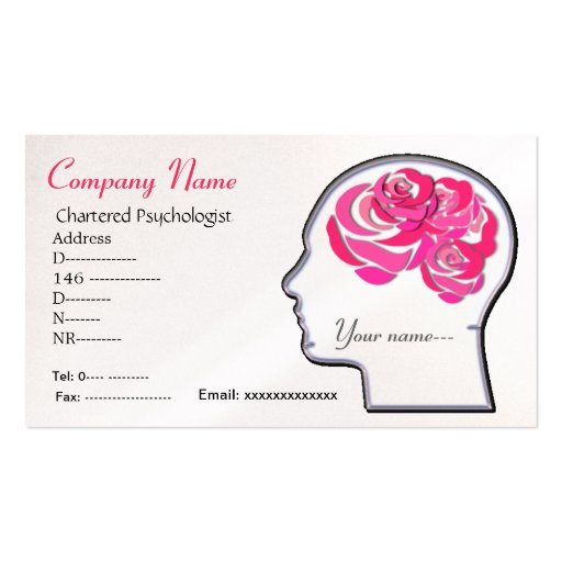 Brain roses business card...