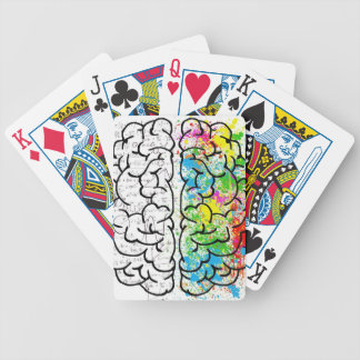 brain series bicycle playing cards